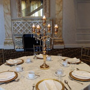 5 Arm Candelabra Centerpieces for Events