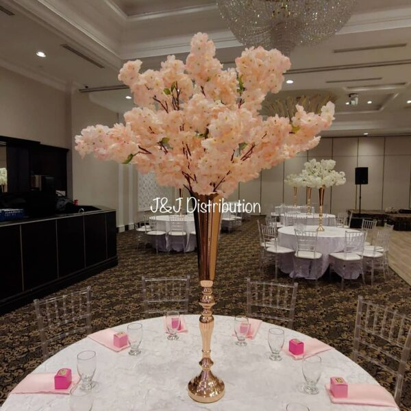 Blush Ping Cherry Blossom for Round Table