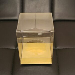 Clear Plastic Cup Cake Boxes with Inserts For Sale