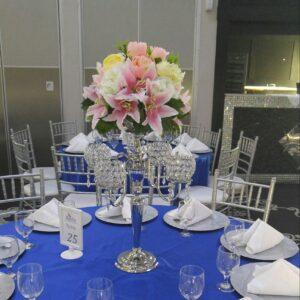 Artificial Flowers Centerpieces Rental