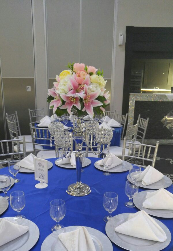Artificial Flowers Centerpieces Rental