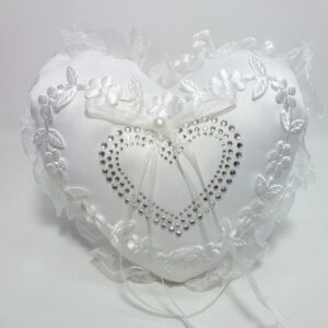Wedding Heart Ring Pillow