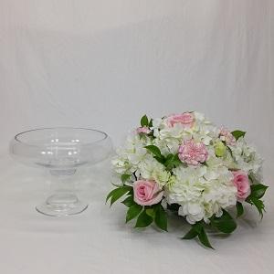 Wedding Round Glass Bowl Centerpieces